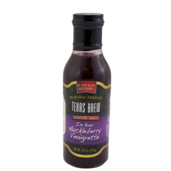 Texas Brew I'm Your Huckleberry Vinaigrette