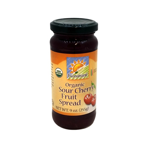 Bionature Organic Sour Cherry Fruit Spread