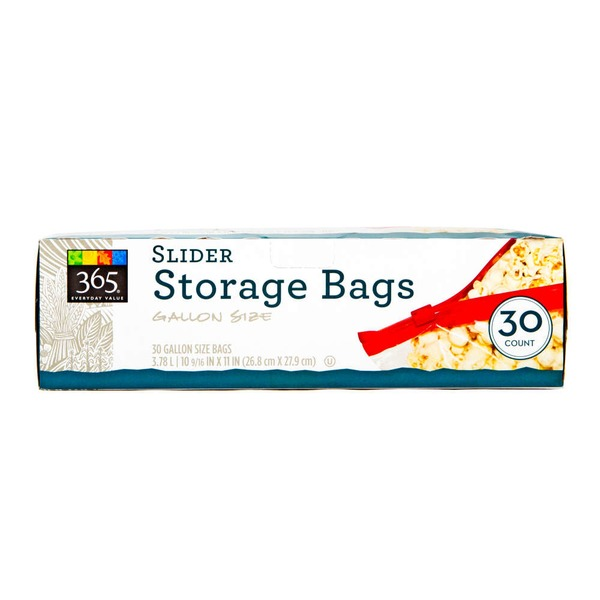 365 Bags Storage Gallon Slide