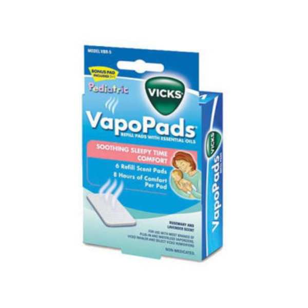 Vicks VapoPads Refill Pads Soothing Sleepy Time Comfort Scent Pads - 6 CT