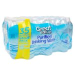 Great Value Purified Water, 16.9 Fl Oz, 35 Count