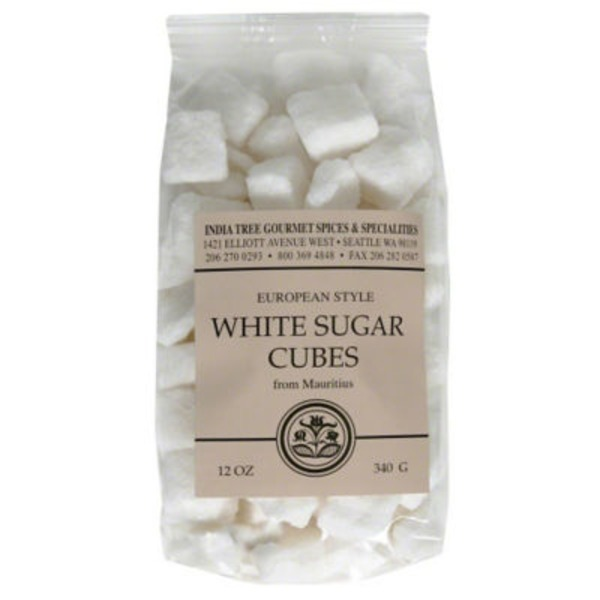 India Tree White Sugar Cubes From Mauritius