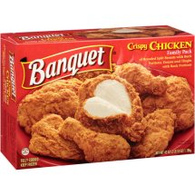 Banquet Crispy Family Pack Chicken, 42 Oz