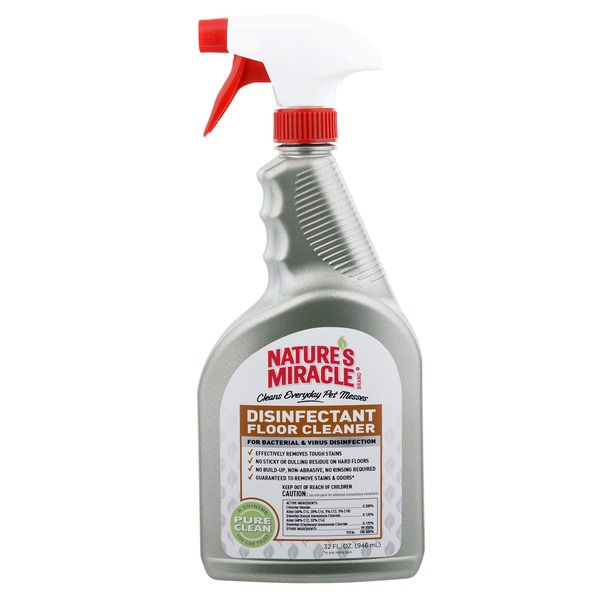Nature's Miracle Disinfectant Floor Cleaner Spray 32 Fl. Oz.