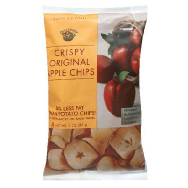 Good Health Natural Foods Crispy Original Apple Chips