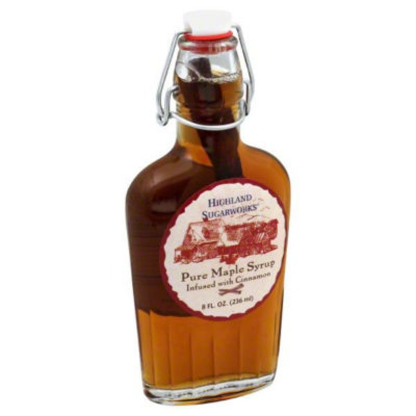Highland Sugarworks Pure Cinnamon Infused Maple Syrup