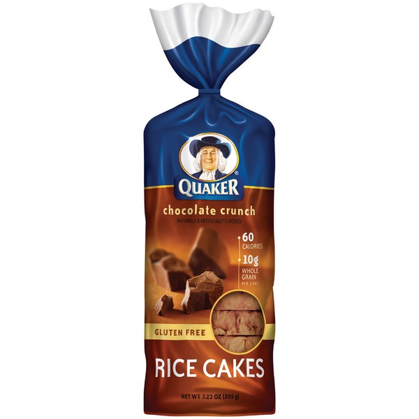 Quaker Rice Cakes Chocolate Crunch Rice Cakes
