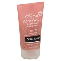 Neutrogena® Foaming Scrub Pink Grapefruit Oil-Free Acne Wash