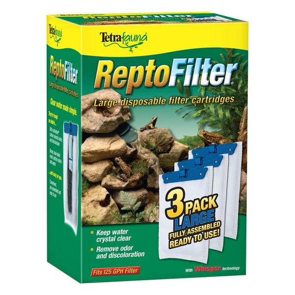 Tetra Repto Filter Disposable Filter Cartridges Large