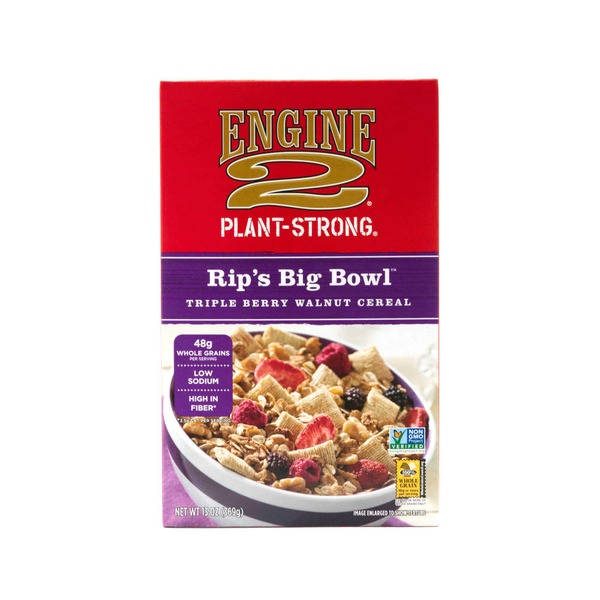Engine 2 Big Bowl Tripleberry Walnut Cereal
