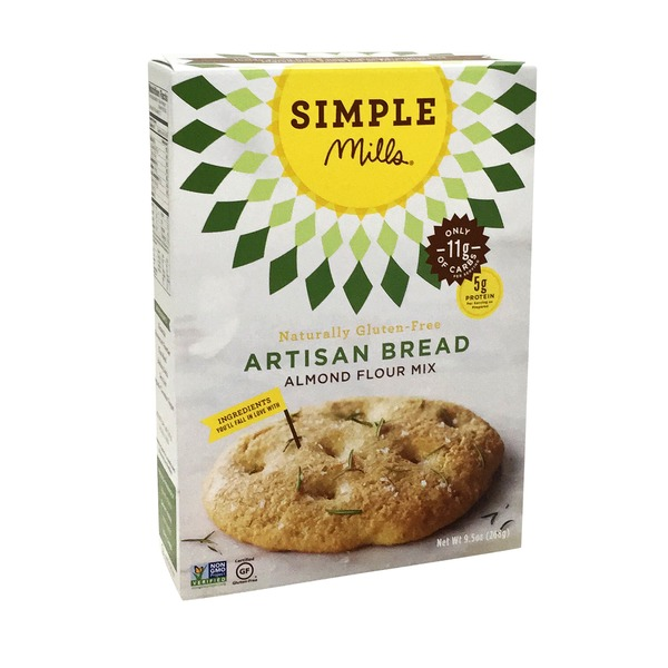Simple Mills Bread Mix, Almond Flour, Artisan