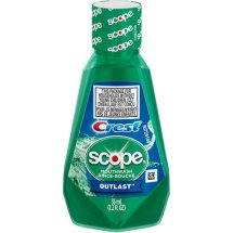 Crest Scope Outlast Mouthwash, Long Lasting Mint, 36 mL