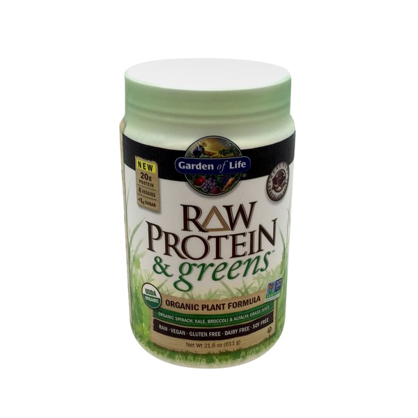 Garden of Life Raw Protein & Greens Chocolate Organic Plant Formula