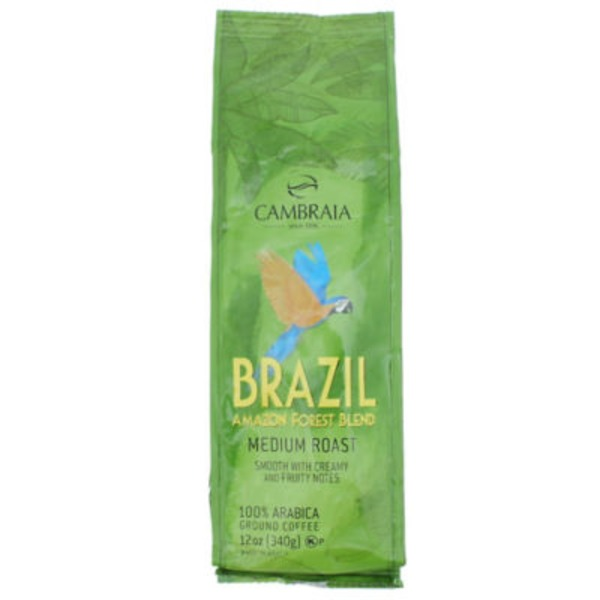 Cambraia Brazil Amazon Forest Blend Medium Roast Coffee