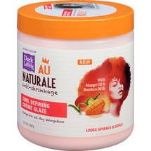 Dark and Lovely Au Naturale Anti-Shrinkage Curl Defining Creme Glaze