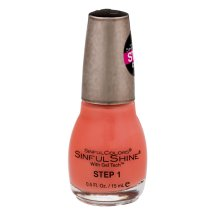Sinful Shine With Gel Tech Step 1 Mardi Gras, 0.5 FL OZ