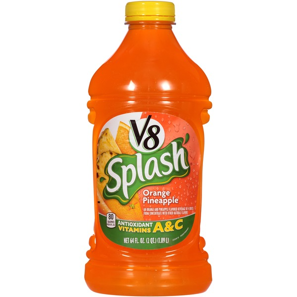V8 Splash Orange Pineapple Fruit Juice