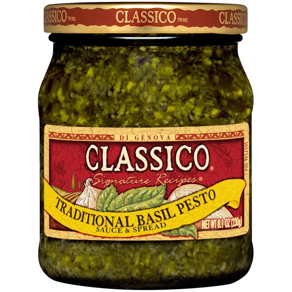 Classico Signature Recipes Traditional Basil Pesto Sauce & Spread