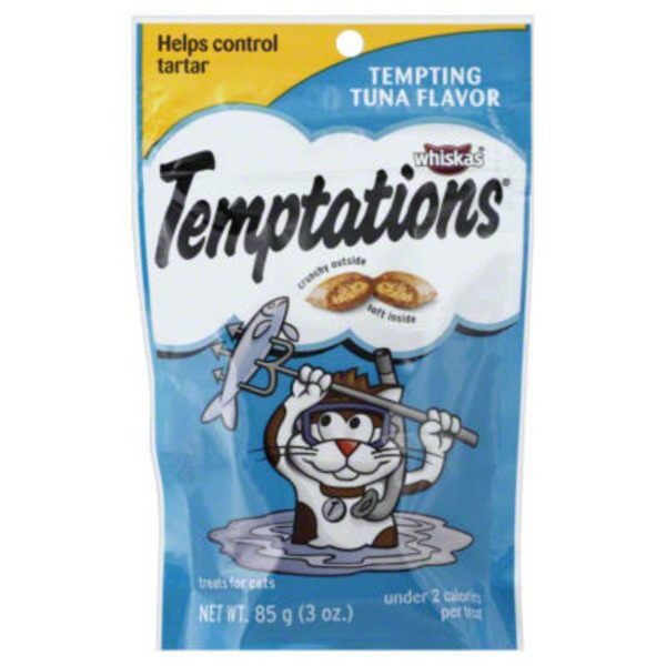 Temptations Tempting Tuna Flavor Cat Care & Treats