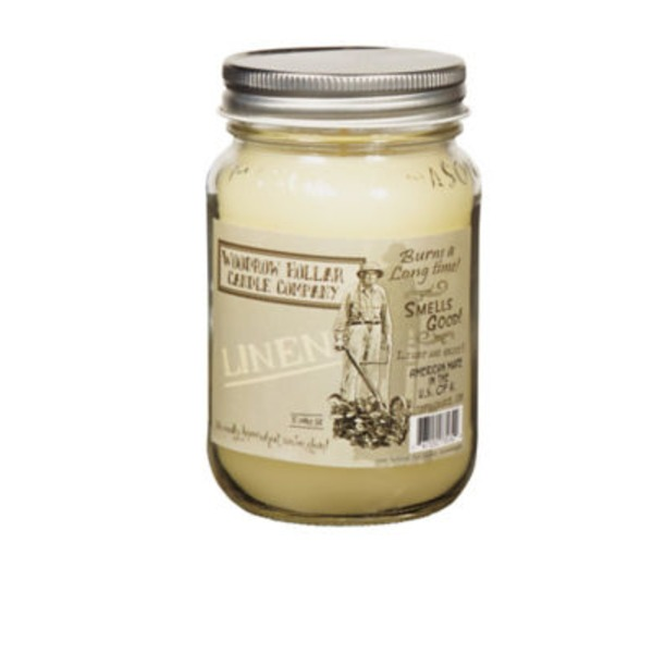 Woodrow Hollar 12 Oz Linen Candle Jar