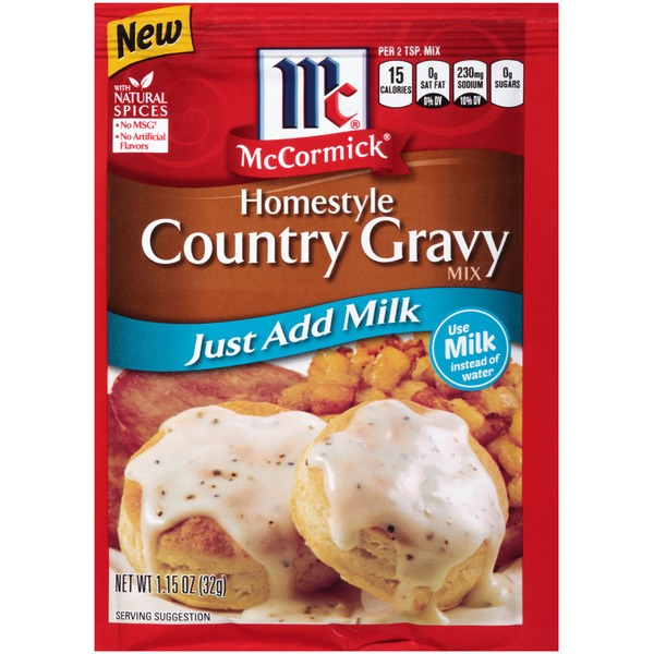 McCormick Homestyle Country Gravy Mix