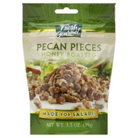 Fresh Gourmet Honey Roasted Pecan Pieces Made For Salads