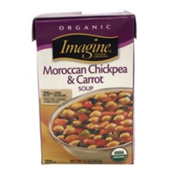 Imagine Foods Moroccan Chickpea & Carrot Soup