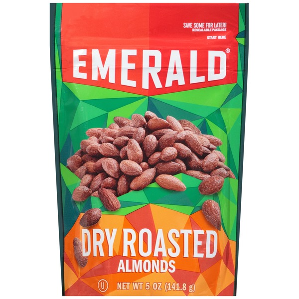 Emerald. Dry Roasted Almonds