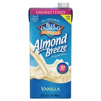 Blue Diamond Almonds Unsweetened Vanilla Almondmilk Non Dairy Milk Alternative