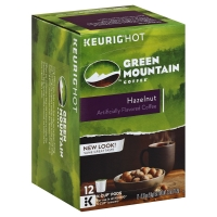 Green Mountain Coffee K-Cup Pods Light Roast Hazelnut - 12