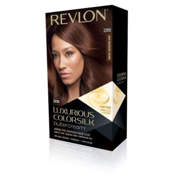 Revlon Colorsilk Luxurious Buttercream 32 Rb Dark Mahogany Brown