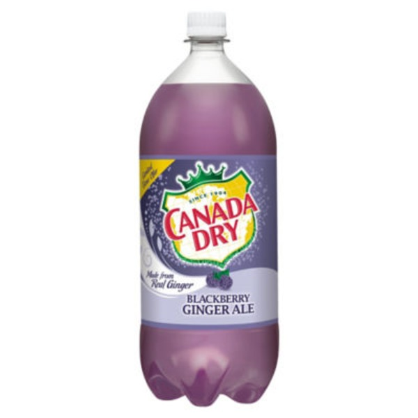 Canada Dry Blackberry Flavored Ginger Ale