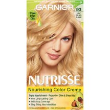 Garnier Nutrisse Nourishing Color Creme Hair Color, 93 Light Golden Blonde (Honey Butter)