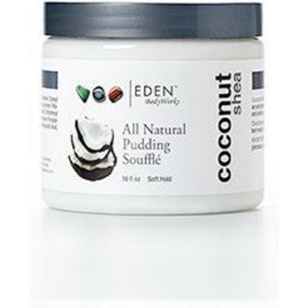 Eden Coconut Shea All Natural Pudding Soufflé For Hair