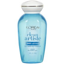 L'Oréal Paris Clean Artiste Oil Free Eye Makeup Remover, 4 Fl Oz