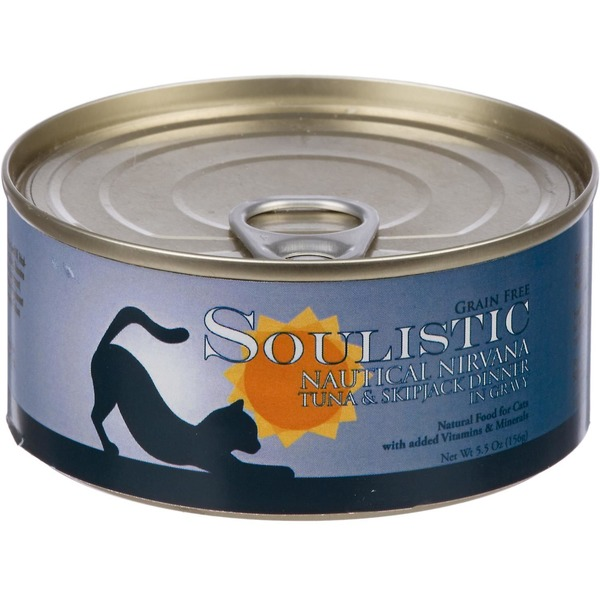 Soulistic Nautical Nirvana Tuna & Skipjack Dinner Adult Canned Cat Food In Gravy