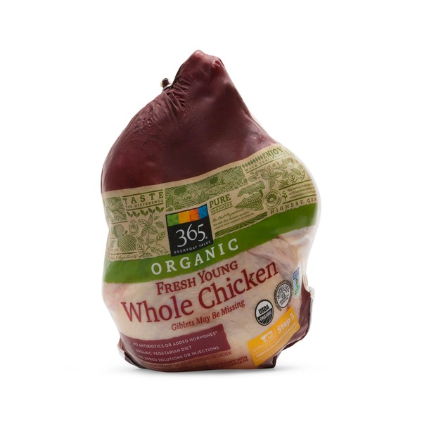 Whole Foods Market Organic Whole Chicken