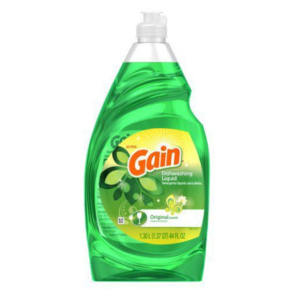 Gain Ultra Gain Ultra Original Dishwashing Liquid 44 Fl Oz Dish Care