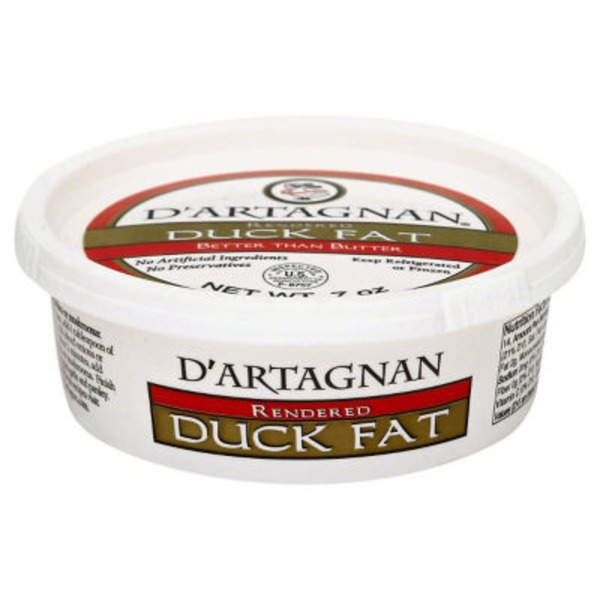 D'Artagnan Rendered Duck Fat