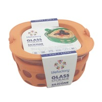 Lifefactory Orange Colored Food Container
