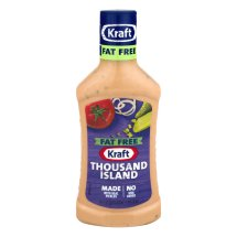 Kraft Salad Dressing Thousand Island Fat Free, 16 fl oz