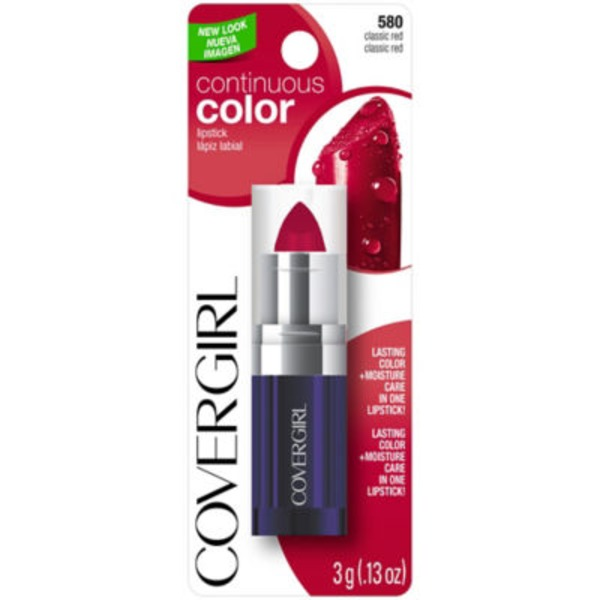 CoverGirl Continuous Color Classic Red 435 Lipstick