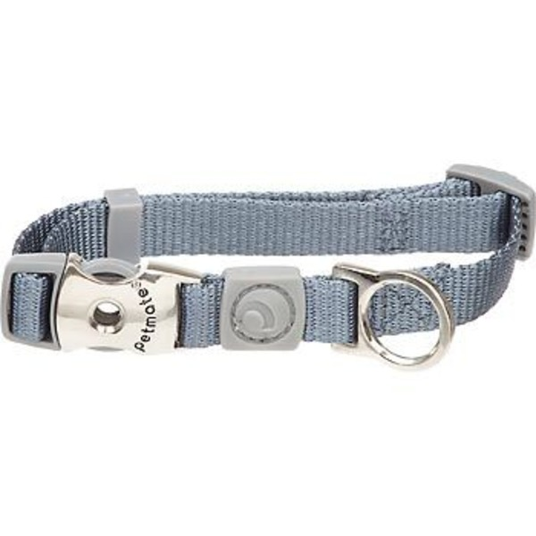 Petmate Pewter Adjustable Collar