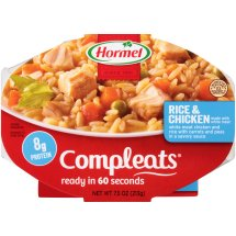 HORMEL® COMPLEATS® Rice & Chicken 7.5 oz. Sleeve