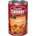 Campbell's Chunky Jazzy Jambalaya with Chicken, Sausage & Ham Soup, 18.6 oz.