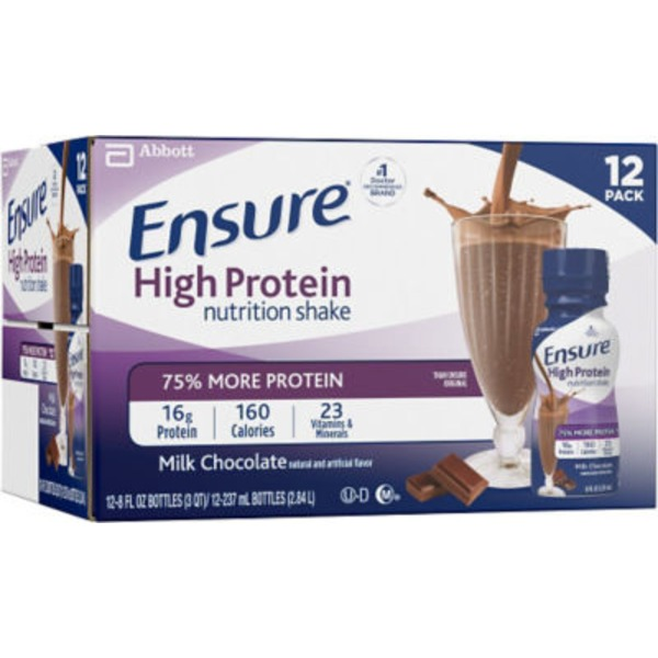 Ensure Plus High Protein Milk Chocolate Nutrition Shake