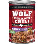 Wolf Homestyle Chili with Beans, 15 Ounce