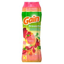 Gain Fireworks In-Wash Scent Booster, Tropical Sunrise Scent, 13.2oz
