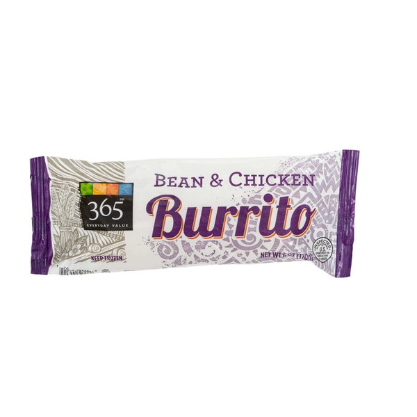 365 Bean & Chicken Burrito