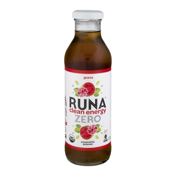Runa Amazon Guayusa Tea Unsweetened Guava